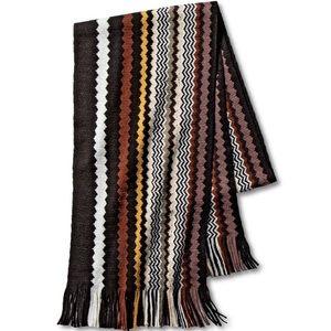 MISSONI * NWT classic zig zag winter scarf